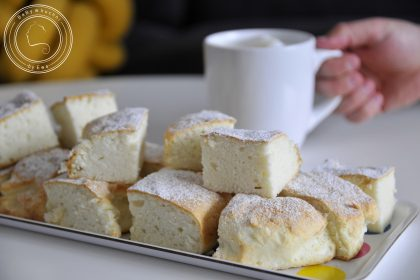 Placek z białek czyli ciasto na białkach