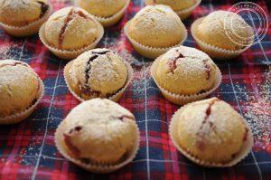 Muffinki z dżemem zamiast pączków