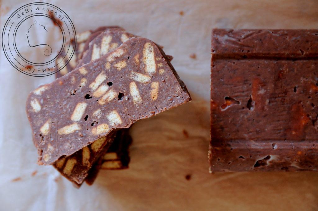Blok czekoladowy z kokosem