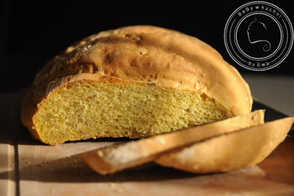 Chleb dyniowy na słono