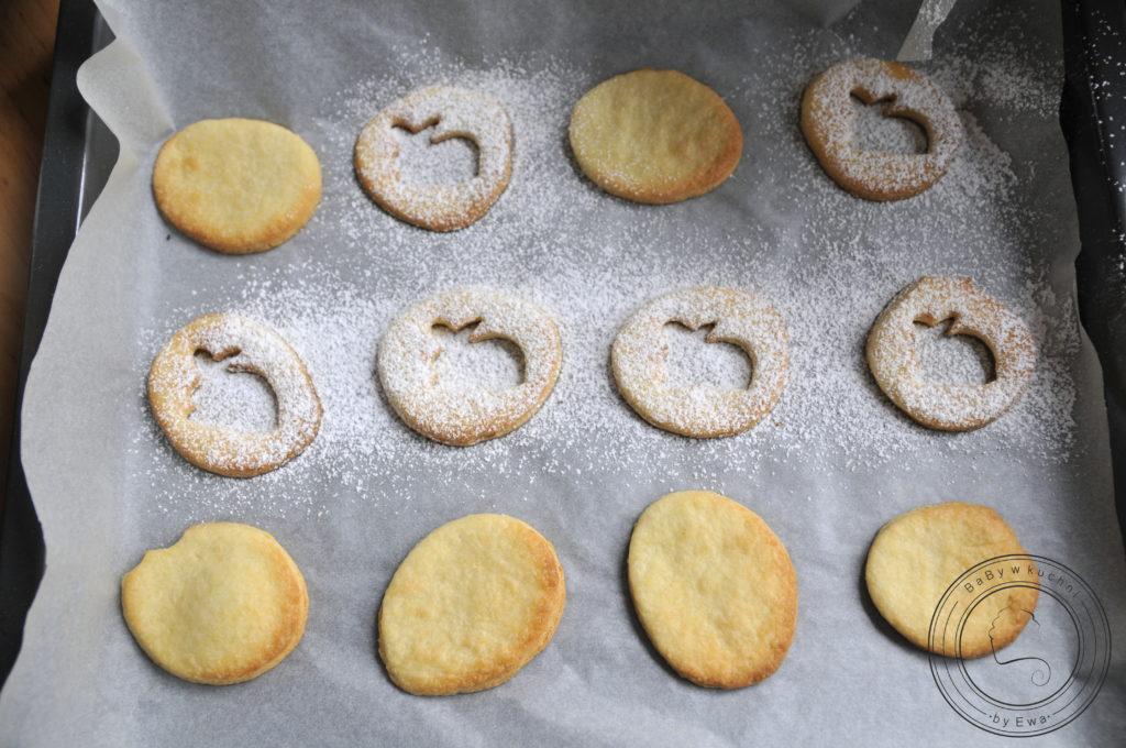 Ciasteczka przekładane z lemon curd
