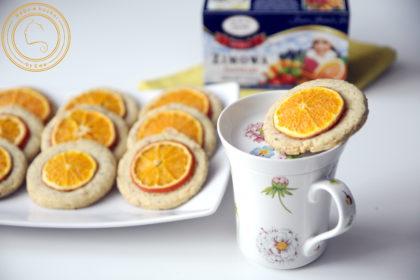 Ciasteczka z mandarynkami