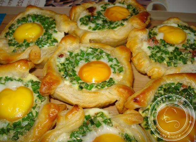 Jajka Zapiekane W Ciescie Francuskim Baby W Kuchni