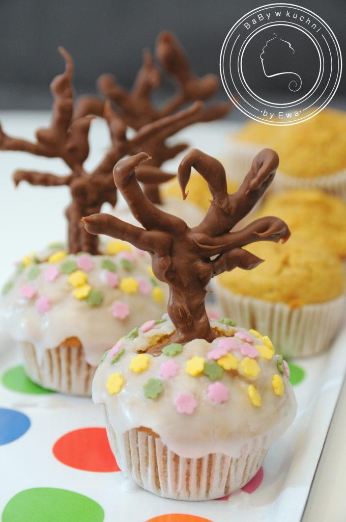 Jesienne muffiny dyniowo-marchewkowe