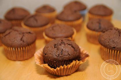 Muffiny z burakami