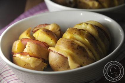 Ziemniaki pieczone na bogato