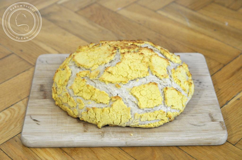 Chleb tygrysi z mąką kukurydzianą