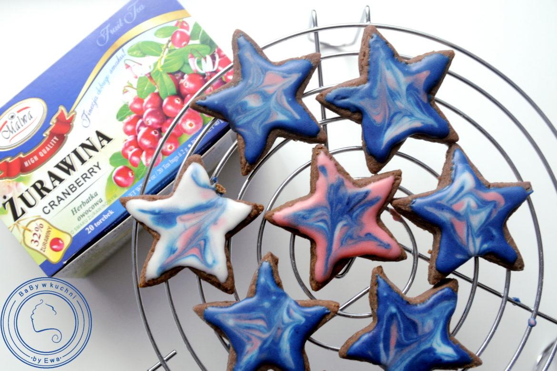 Kosmiczne gwiazdki galaxy cookies