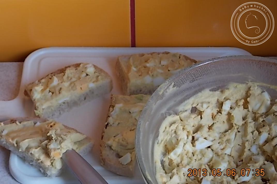 Jajka z musztardą - pasta do kanapek