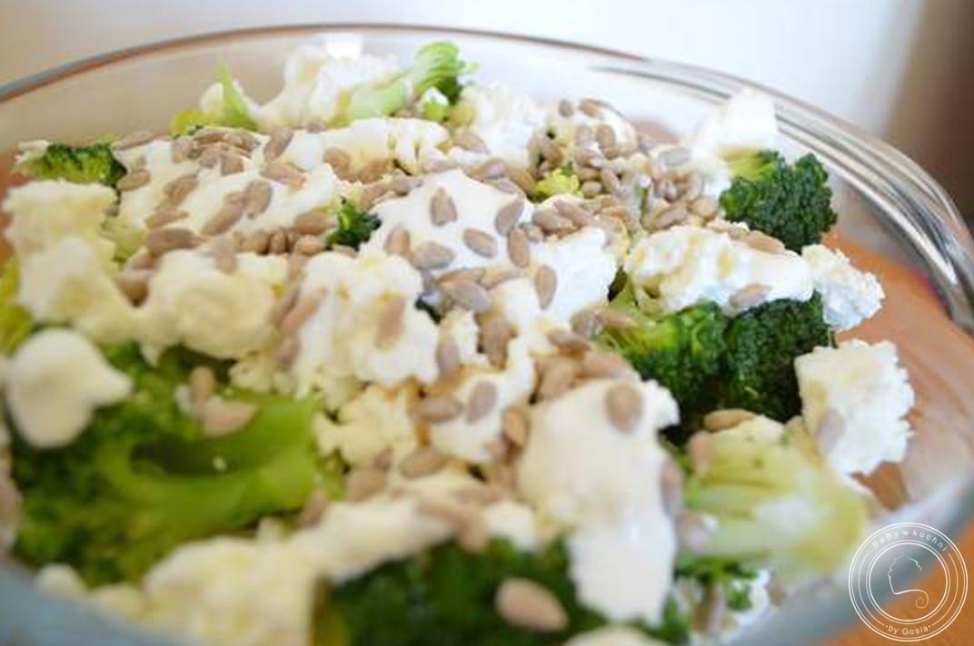 Sałatka z brokułów