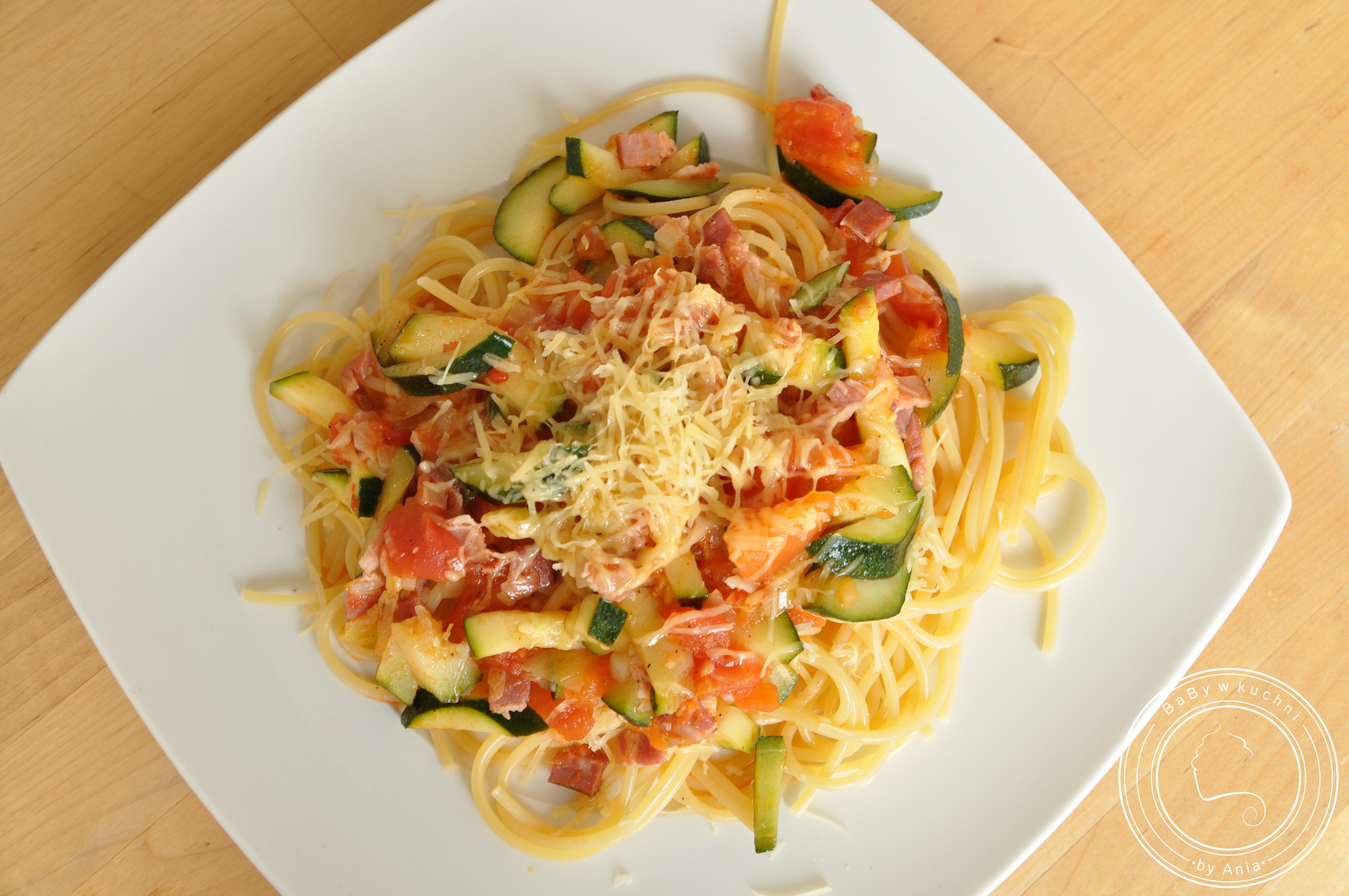 Spaghetti po wiejsku