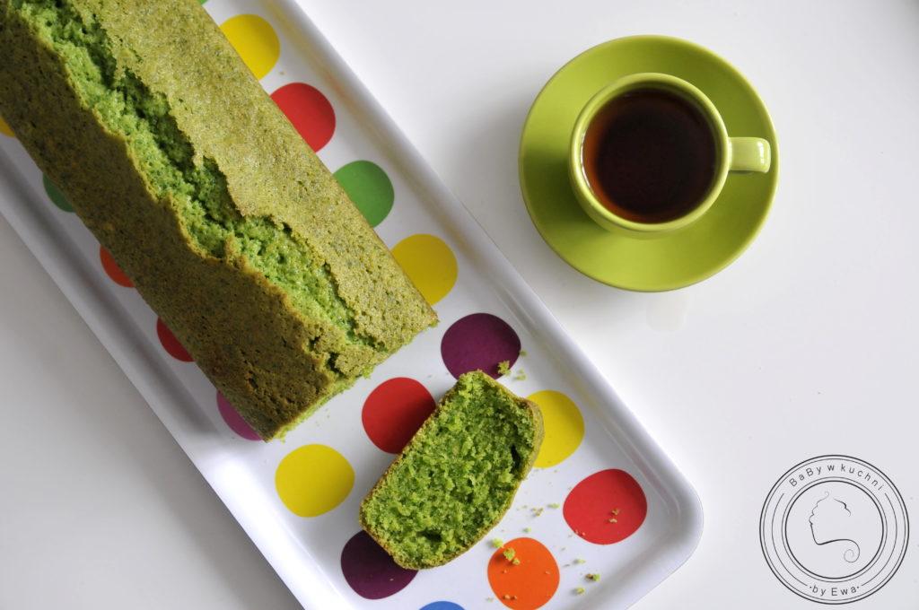 Zielone ciasto ze szpinakiem