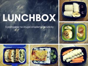 Lunchbox drugie śniadanie do szkoły