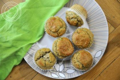 Bazyliowe muffinki