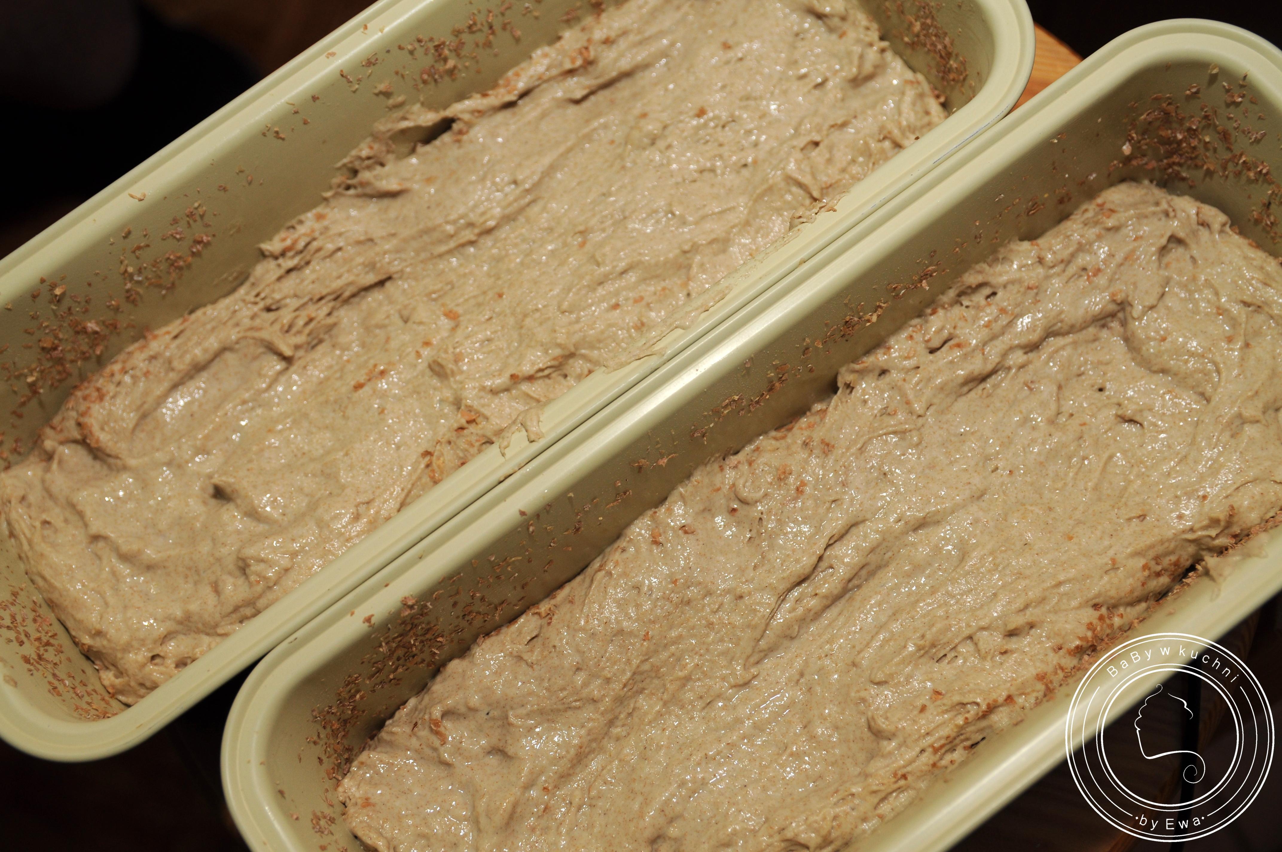 Chleb pszenno-żytni na zakwasie