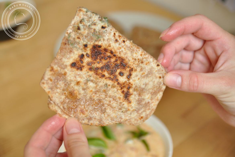 Paratha - indyjski chlebek