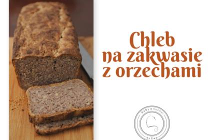 Chleb na zakwasie z orzechami wg Hamelmana