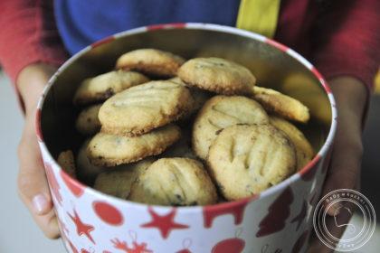 Ciasteczka gryczane z czekoladą