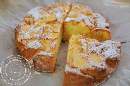 Quatre quarts, czyli ciasto z jabłkami