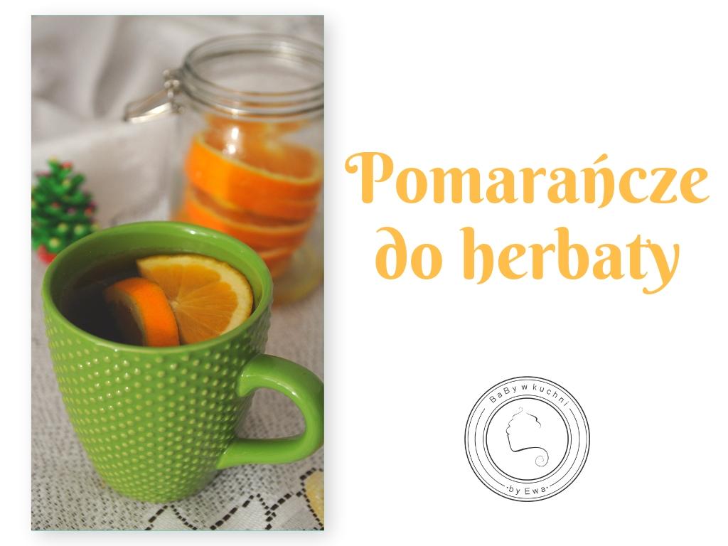 Pomarańcze do herbaty